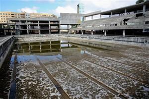 Piscina olímpica inacabada da Maia demolida após 20 anos