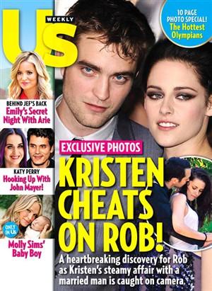 Kristen Stewart trai Robert Pattinson e pede desculpa