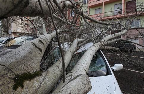Chuva e vento varrem o país e tiram o teto a 92 pessoas