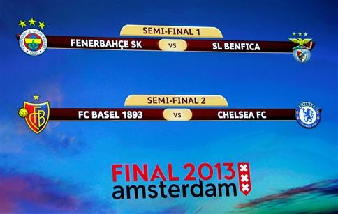 Benfica vai defrontar Fenerbahçe na meia-final da Liga Europa