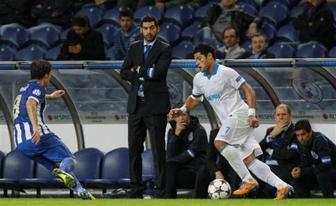 F. C. Porto derrotado pelo Zenit, 1-0, no Dragão