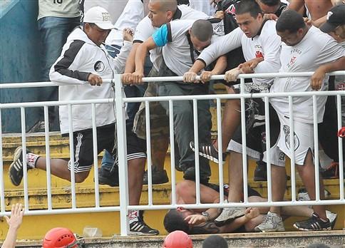 Governo brasileiro condena violência no Atlético Paranaense-Vasco da Gama