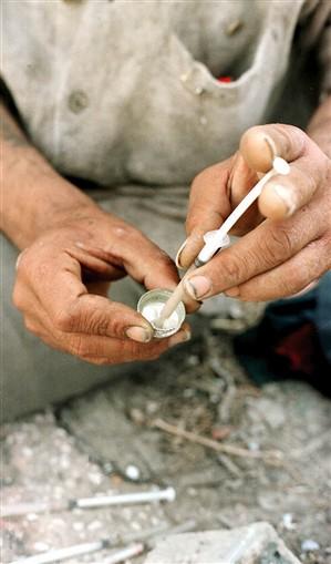 Reincidências na heroína quase triplicaram