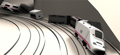O acidente ferroviário em Santiago de Compostela em gráfico animado