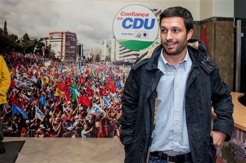 Eurodeputado do PCP João Ferreira cabeça de lista da CDU às Europeias