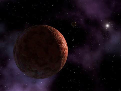 Descoberto pequeno planeta muito além de Plutão
