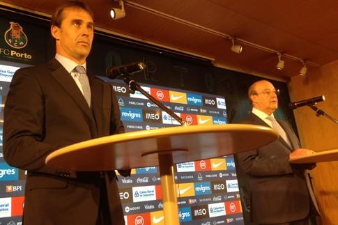 Pinto da Costa apresenta Lopetegui como próximo treinador do F.C. Porto