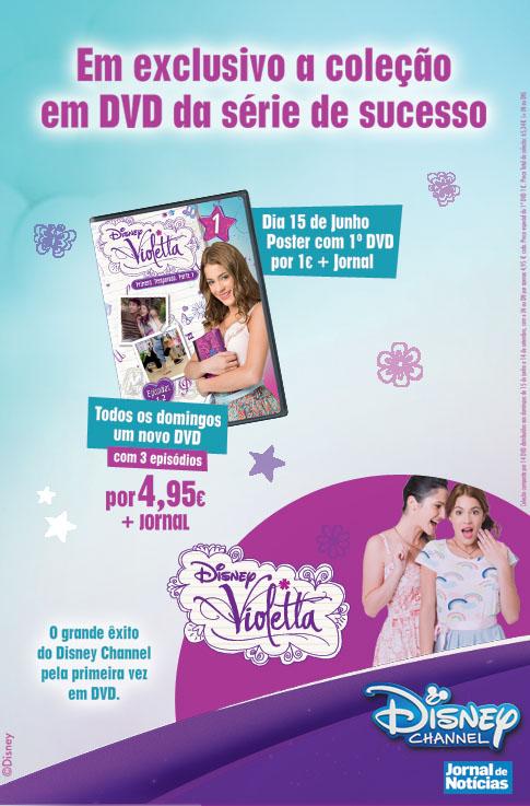 Coleção DVD Violetta