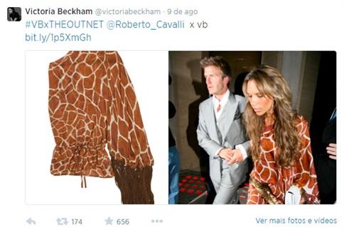 Victoria Beckham vai doar mais de 600 peças de roupa