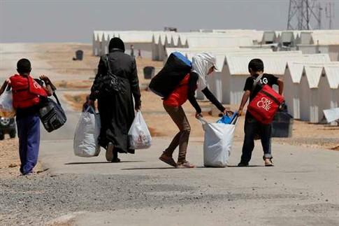 Refugiados sírios chegam aos três milhões