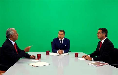 Seguro e Costa em confronto aberto no último debate televisivo