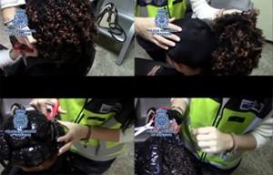 Duas portuguesas detidas no aeroporto de Madrid com cocaína em perucas