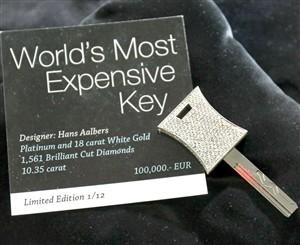 Águeda lança a chave mais cara do Mundo