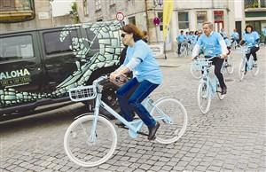 É preciso deixar caução de 500 euros para usar bicicletas