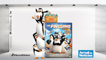 DVD Pinguins de Madag�scar