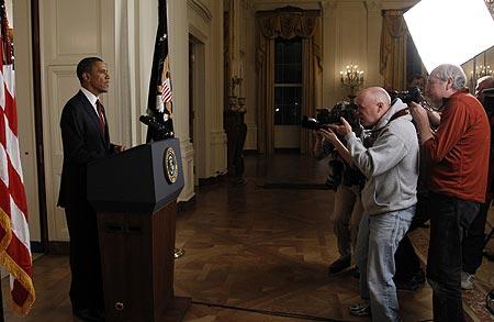 Barack Obama anuncia morte de Bin Laden