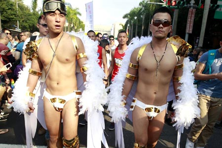 "A maior parada ""gay"" da Ásia"