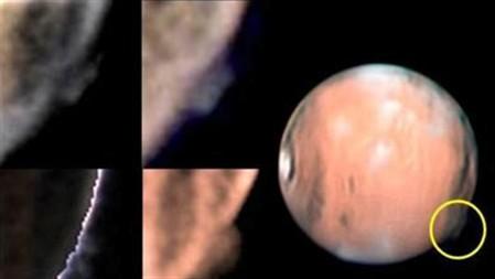 """""""Névoa"""" em Marte intriga cientistas"""