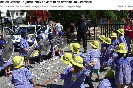 PSP vai rever forma como crianças contactam com equipamentos da polícia