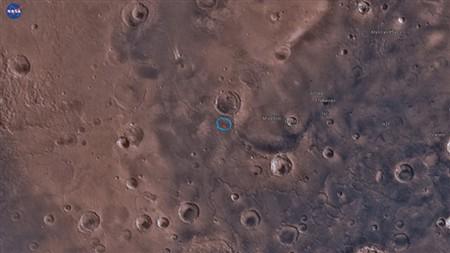 Cientistas descobrem lago seco em Marte e querem procurar indícios de vida