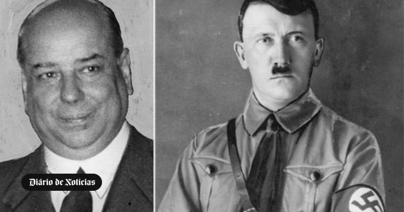 Agitada e sensacional entrevista com Adolfo Hitler, chefe dos nacionais-socialistas