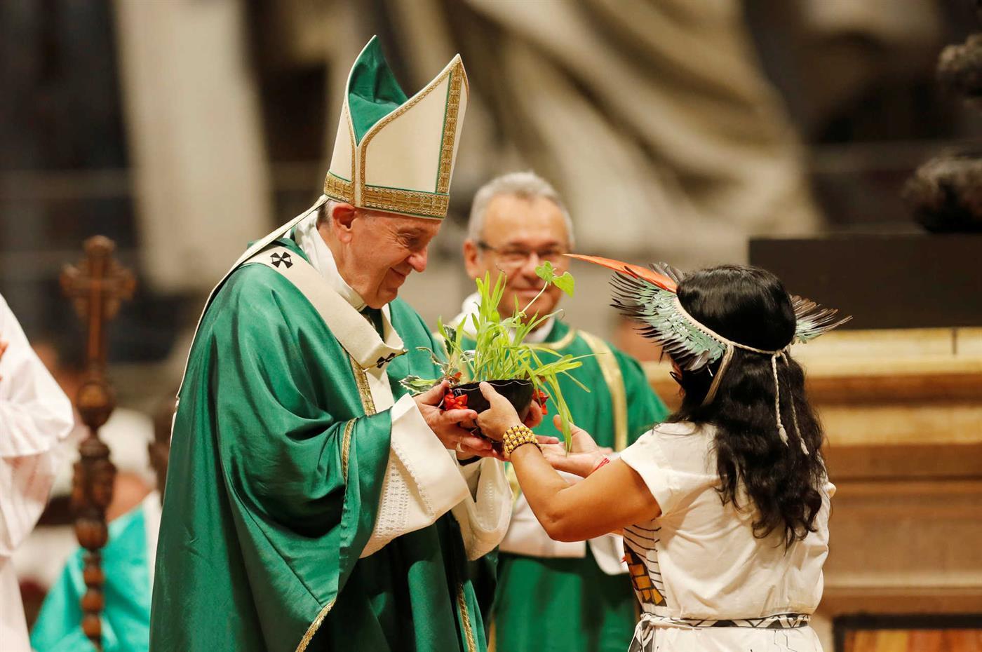 Povos indígenas mostraram a sua cultura no Vaticano e ao mundo.