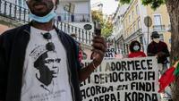 Embaló foi recebido com protestos em Lisboa