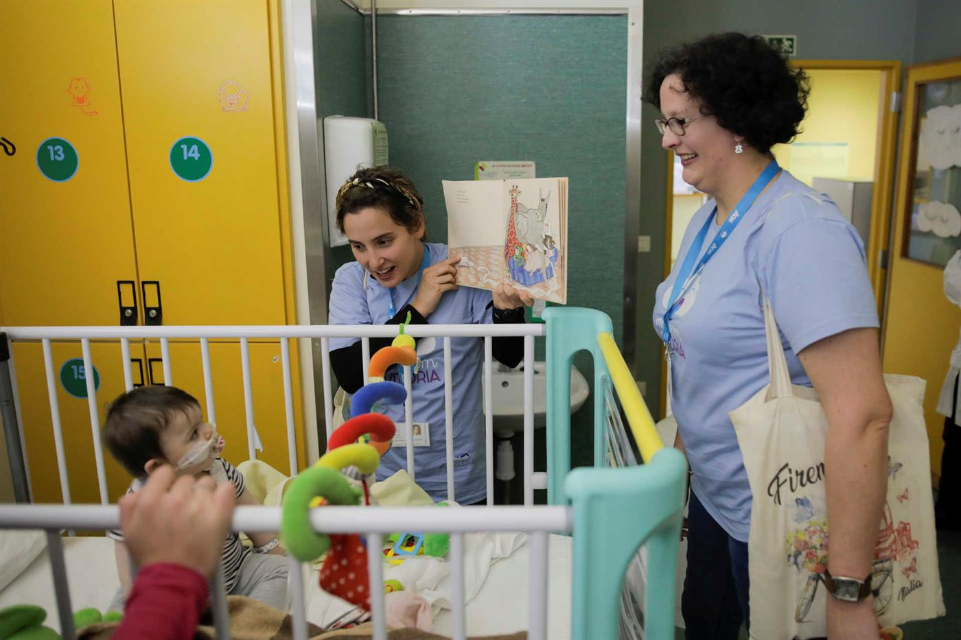 Diana Costa e Mónica Brites, duas das nuvens de Leiria.
