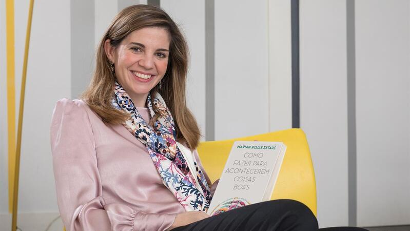 Marian Rojas Estapé. A psiquiatra espanhola, filha do psiquiatra Enrique Rojas, lançou recentemente em