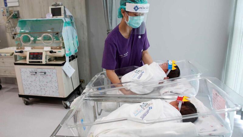 Nascer em tempo de covid-19 comporta riscos