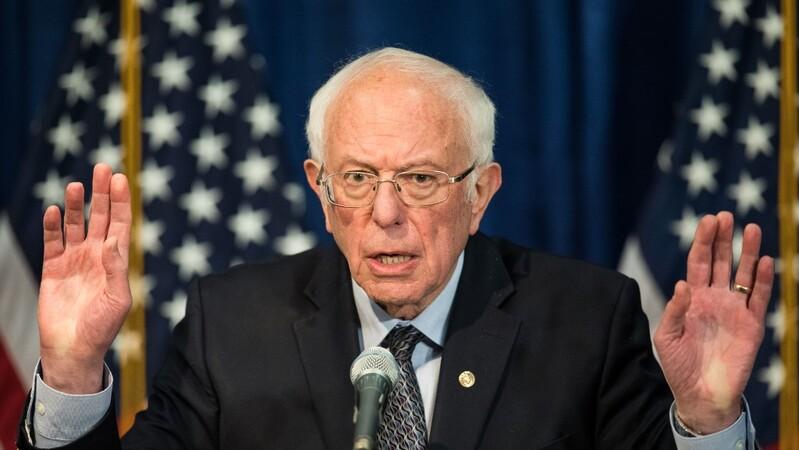 """Bernie Sanders reconheceu que a sua campanha tem um problema de """"elegibilidade""""."""