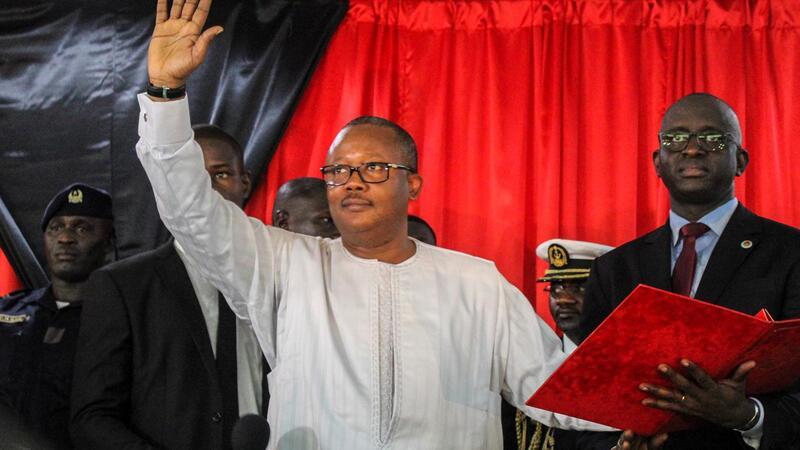 Sissoko Embaló tomou posse como presidente, sem presença da oposição e da comunidade internacional