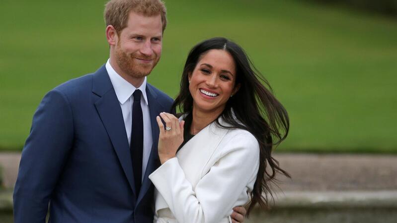 O noivado de Harry e Meghan em 2017