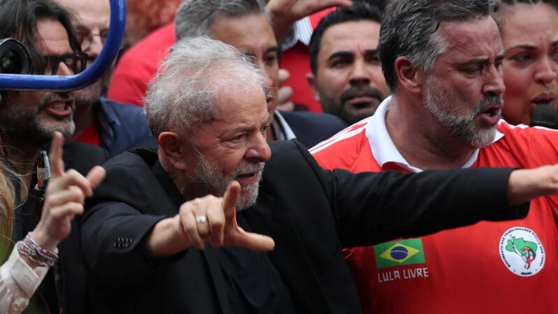 Lula discursa em são Bernardo do Campo