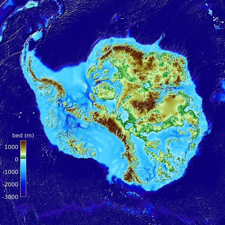 Nova tecnologia permitiu traçar um mapa mais pormenorizado