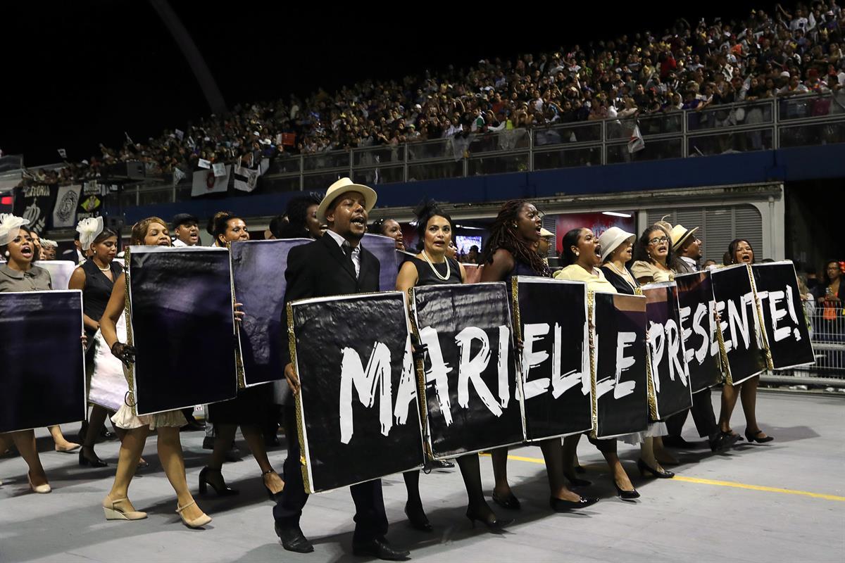 Os últimos minutos de Marielle Franco