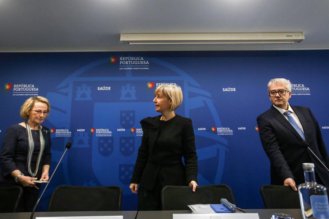 A ministra da Saúde e a diretora-geral da Saúde confirmaram a existência de dois casos em Portugal.