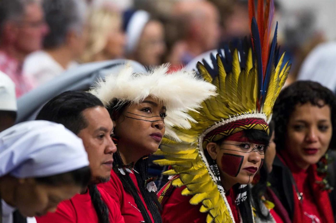 Papa Francisco quis trazer todas as comunidades a Roma para se falar da Amazónia, comunidades indígenas