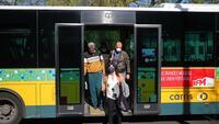 Quase 800 pessoas impedidas de entrar em transportes públicos sem máscara