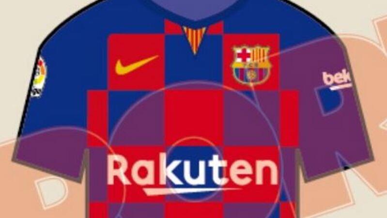 Revolução na camisola do Barcelona  ao xadrez 04988ed530c30