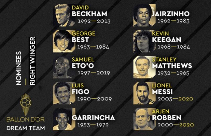 """Ronaldo, Figo e Eusébio nomeados para o """"Bola de Ouro Dream Team"""""""