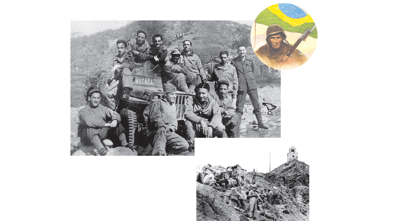 O dia em que os soldados brasileiros subiram à colina para dar surra nos nazistas
