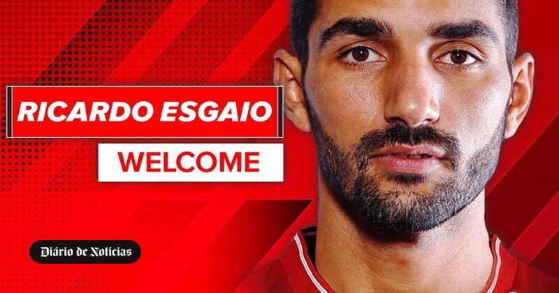 Ricardo Esgaio assinou pelo Sp. Braga, depois de 12 anos ...
