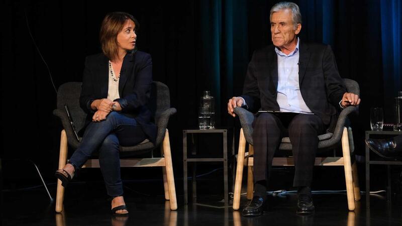 Catarina Martins (BE) e Jerónimo de Sousa (PCP). O caderno de encargos do PCP parece maior do que o do