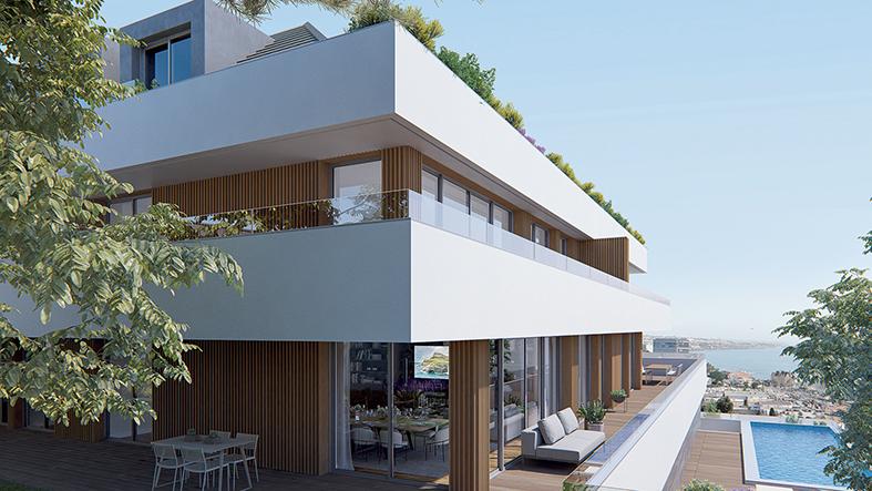 O The Heights, Cascais, vendeu uma penthouse T4 por mais de 2,7 milhões.