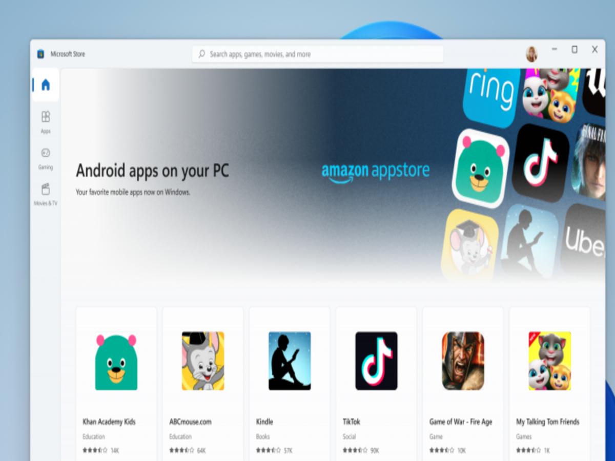A Microsoft estabeleceu parceria com a Amazon para trazer apps Android para o Windows. A oferta é grande