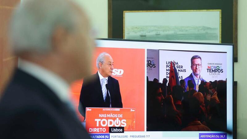 Rui Rio, presidente do PSD, comentando no domingo os resultados eleitorais