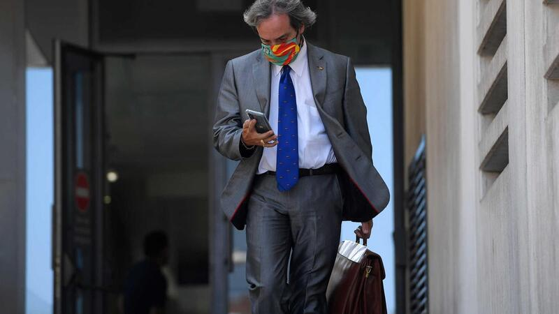Germán-Ramón Inclán Méndez, advogado dos quatro portugueses alegadamente envolvidos na violação de duas
