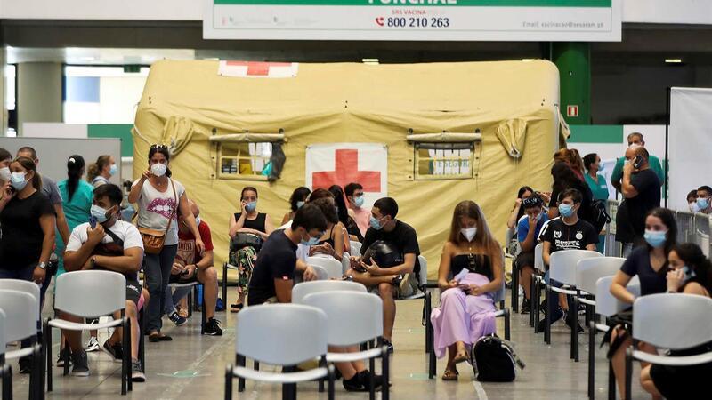 Centro de Vacinação do Funchal este sábado, início de vacinação dos 12 e mais anos no arquipélago da
