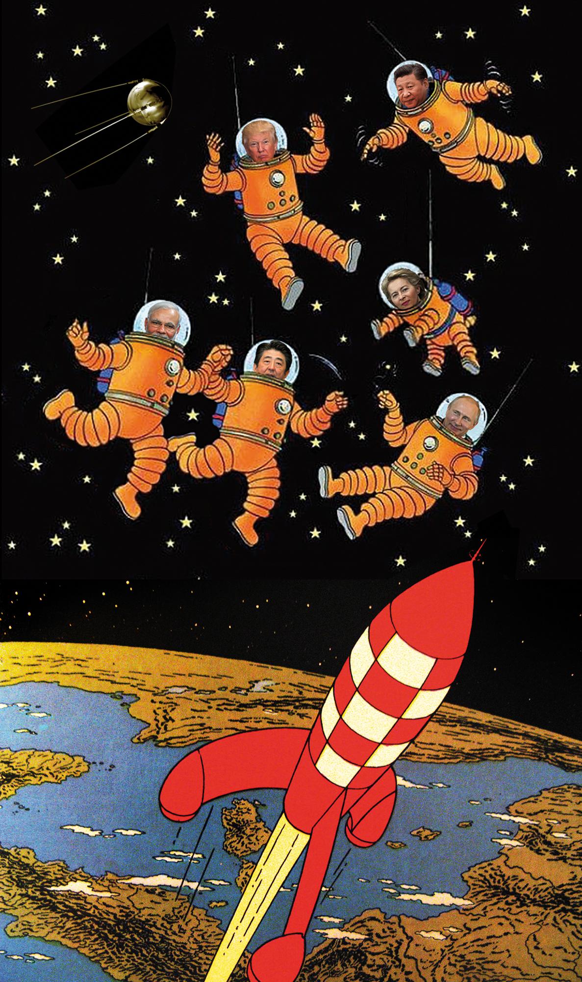 Corrida espacial 2.0: De novo o grande jogo das potências